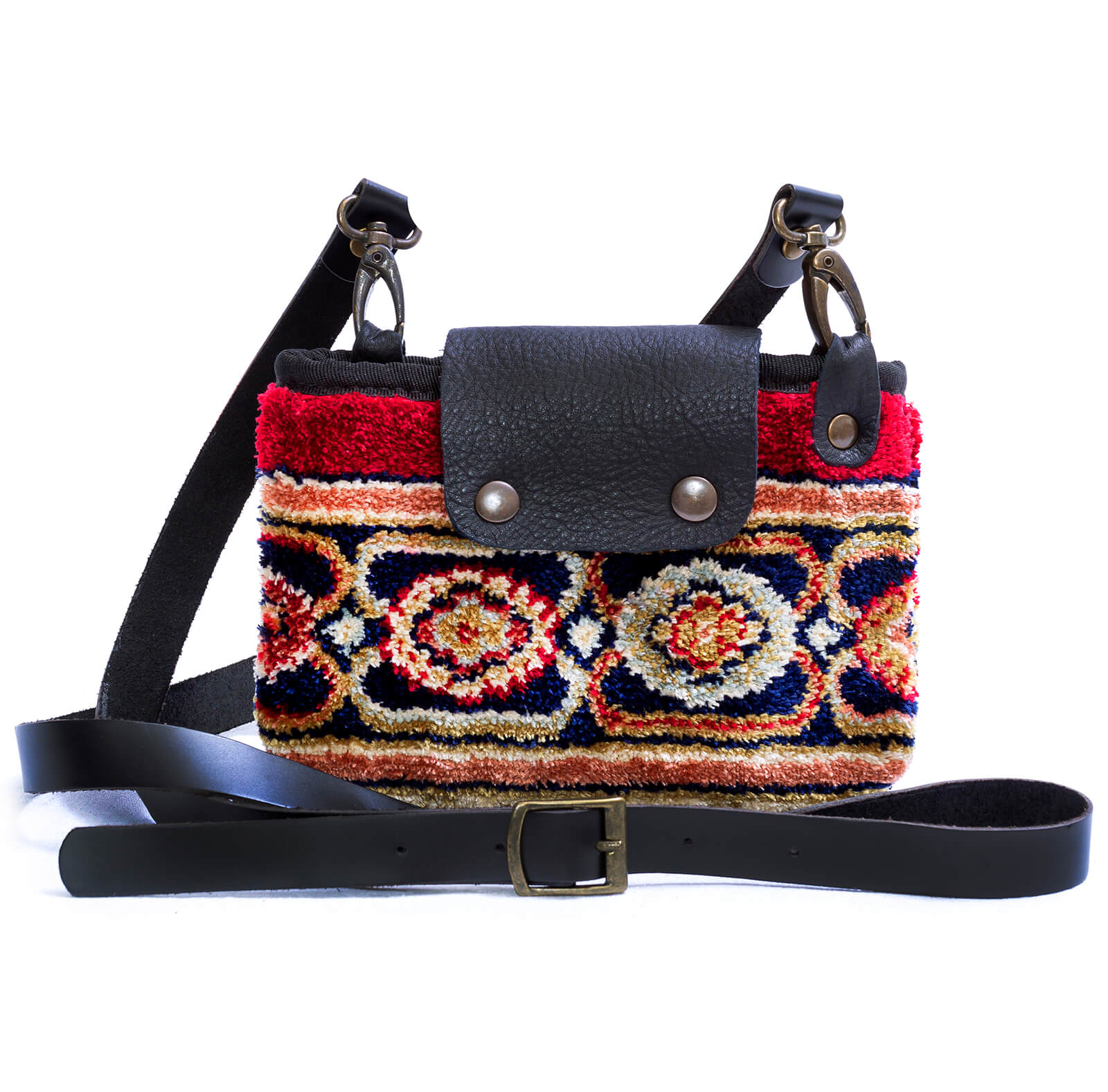 Image of MYSTERY Polaris Red Victorian Carpet Bag.